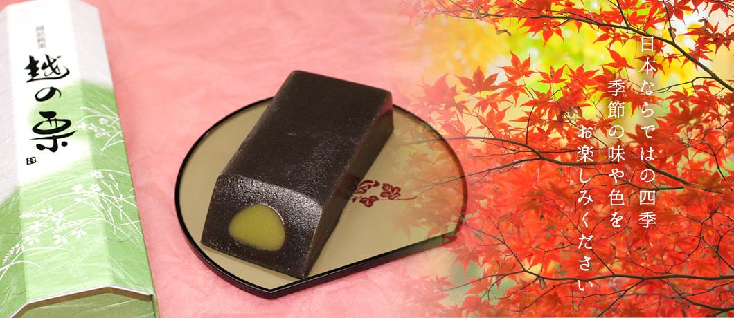 日本ならではの四季 季節の味や色をお楽しみください